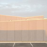 façade ouest - détail © David Foessel