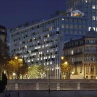 Perspective depuis la Seine - ©SCAU