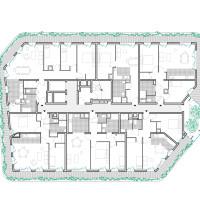 Plan d'étage courant